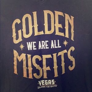 """Golden Knights """"Misfits"""" v neck tee"""